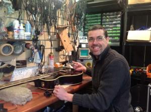 dan in workshop